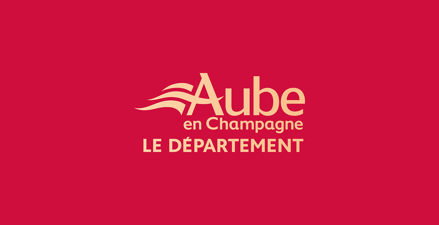 branding  Champagne city emblem france graphic design  logo motion territory typography