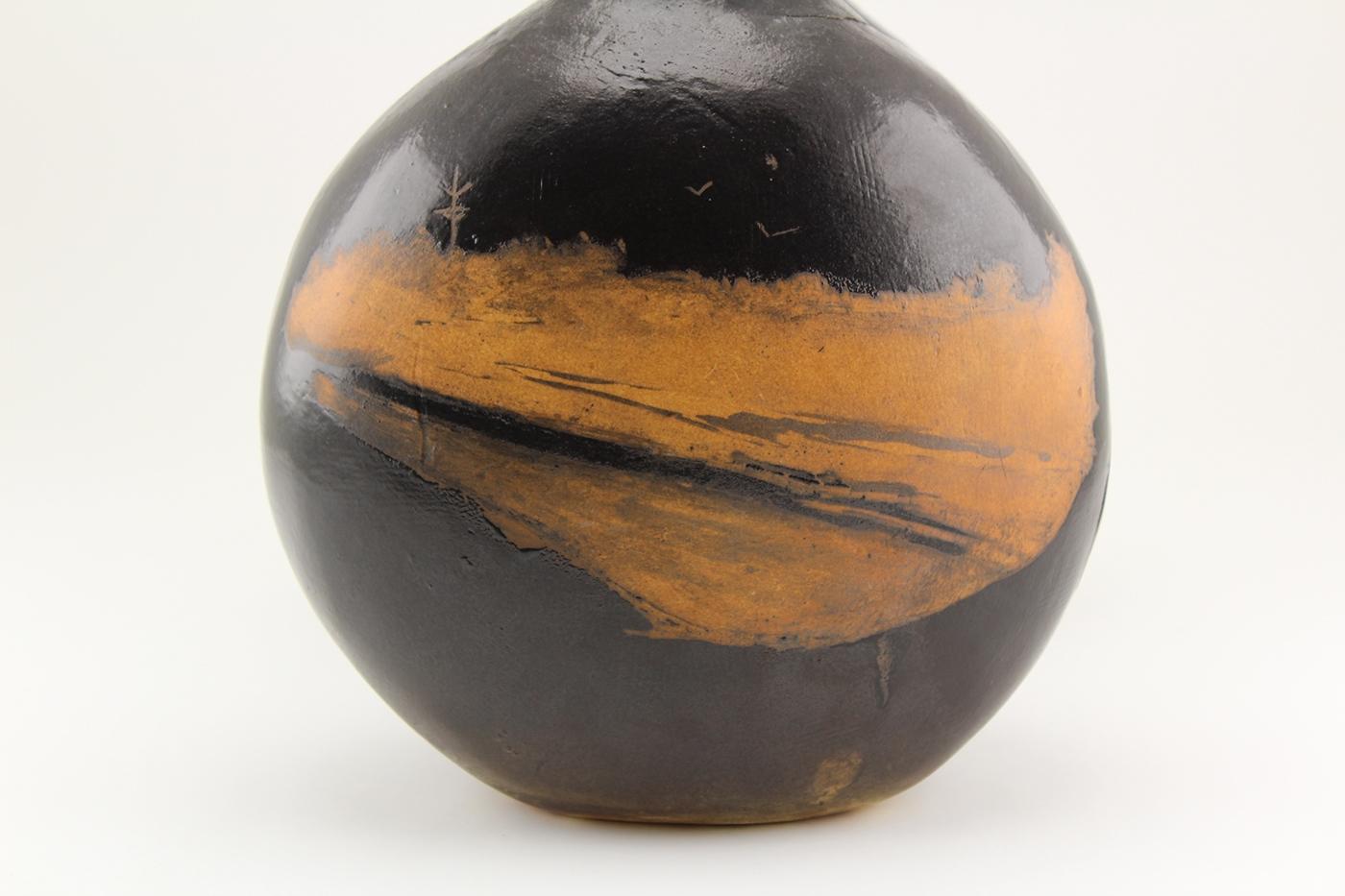 clay ceramics  vessel Terra Sig hand built