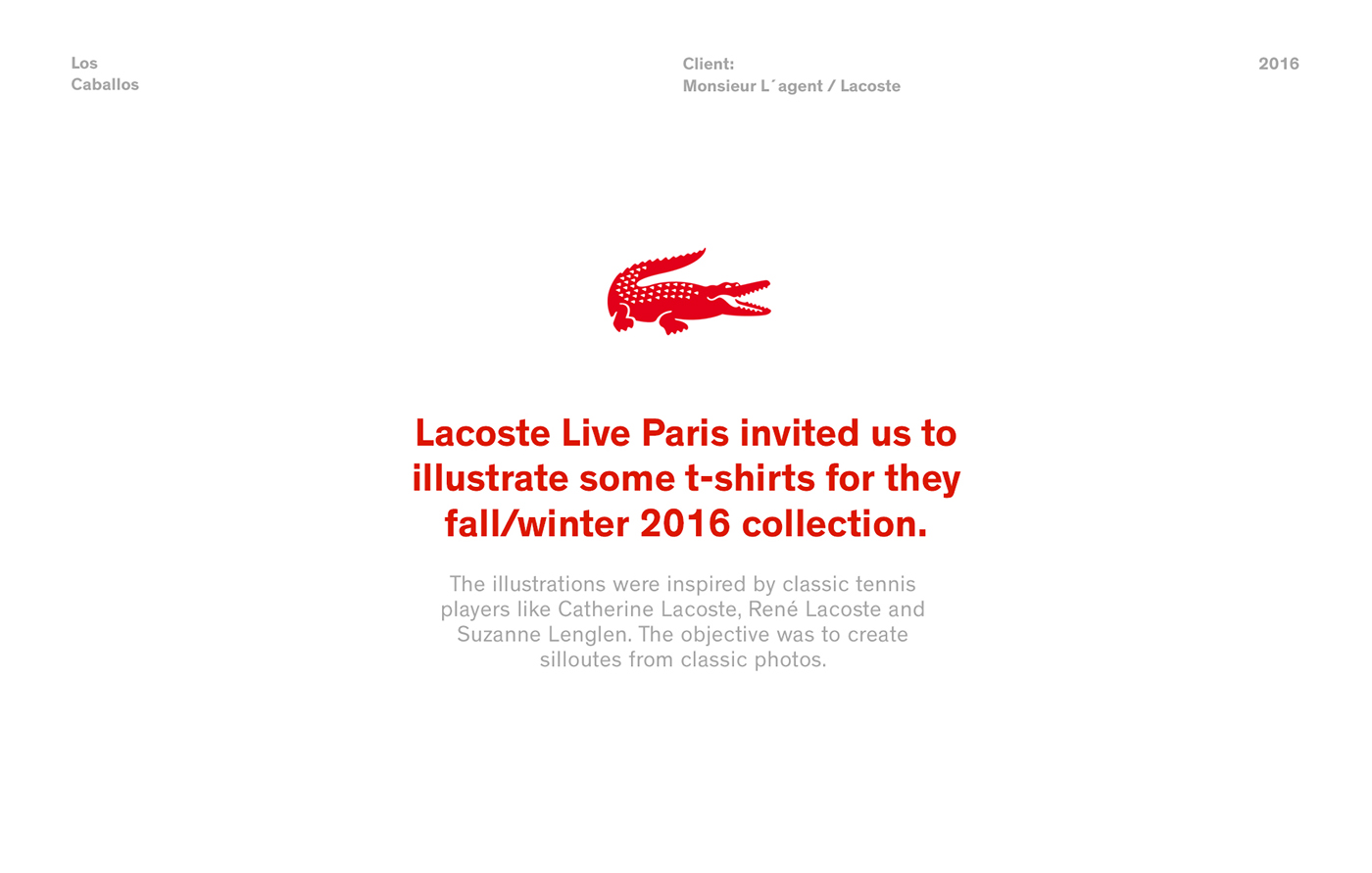 lacoste los caballos  buenos aires argentina france Paris tshirts shirts tennis Lacoste live sport Clothing pattern type
