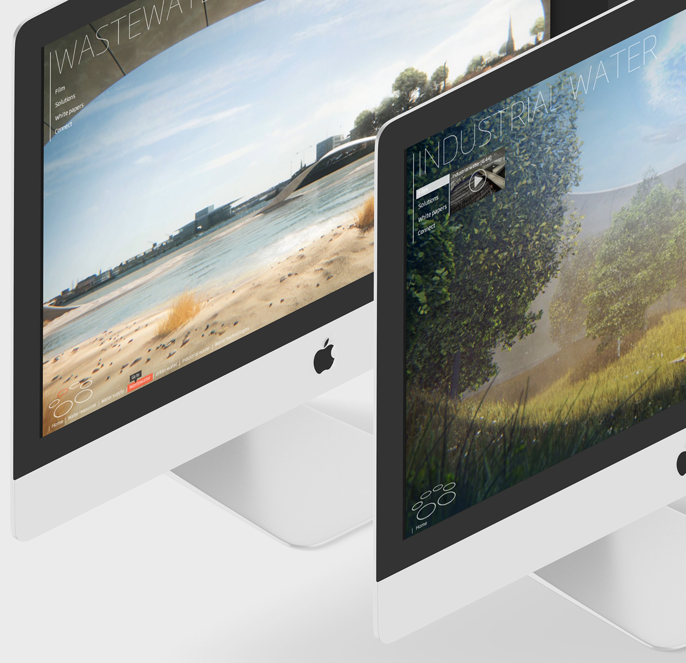 digital presentation digital experience digital design desktop app Sustainability
