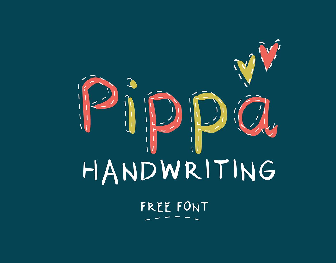 free freebie font handwriting coowini queenie appleyard pomaceia