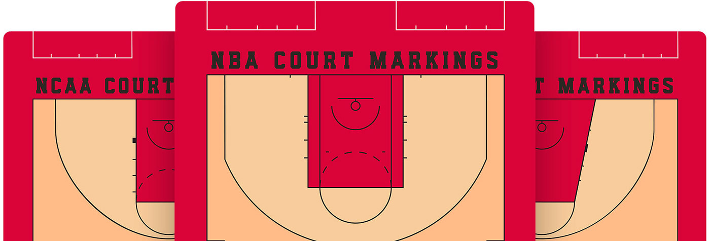 basketball full 3d court photoshop mockup template on behance