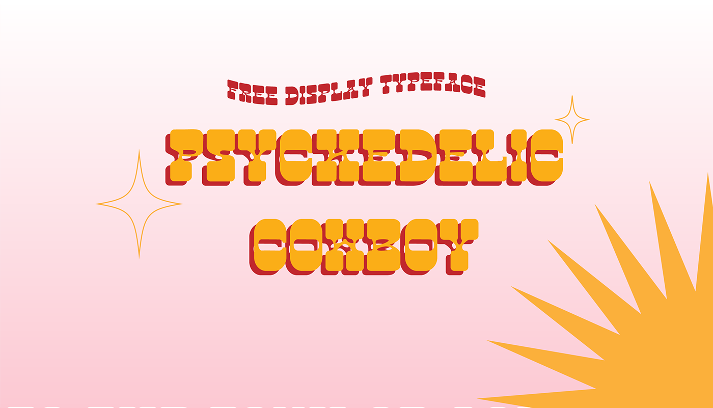 70s free Free font free fonts freebies funky Headline serif slab serif western