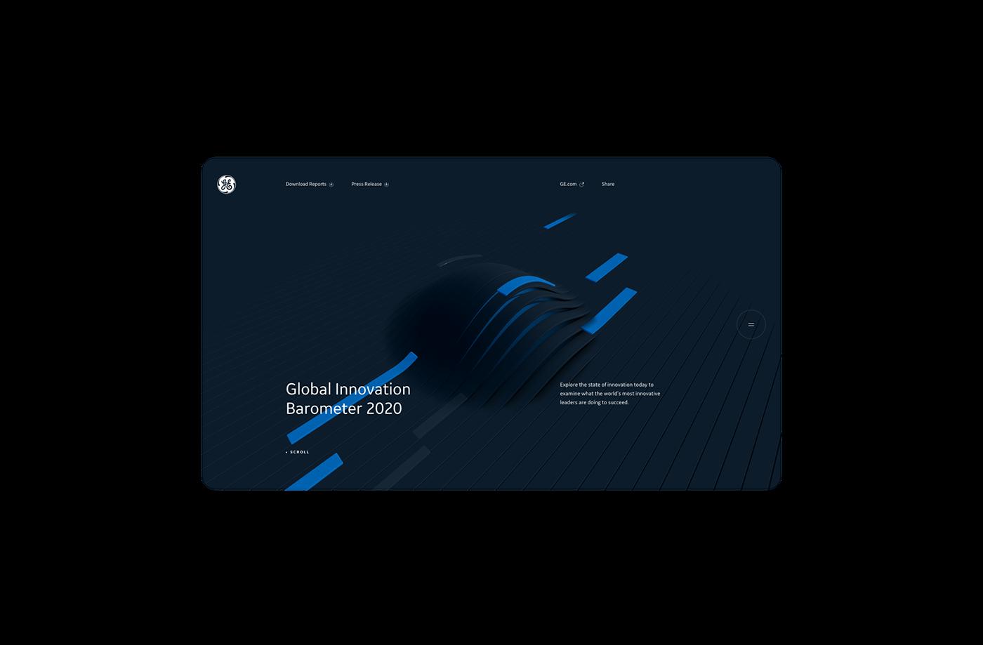 3D Data dataviz immersive innovation interactive motion Webdesign webgl Website