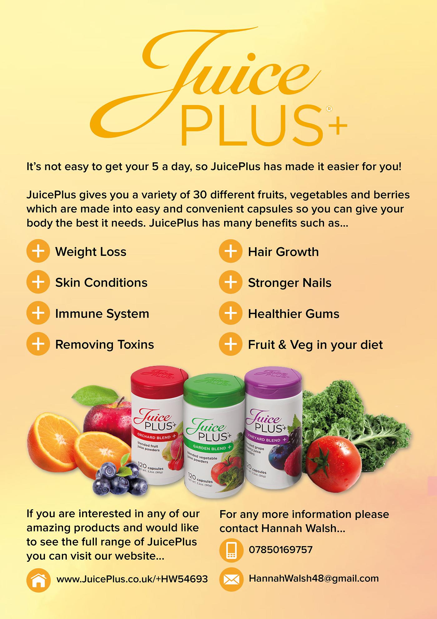 Juice Plus Produkte