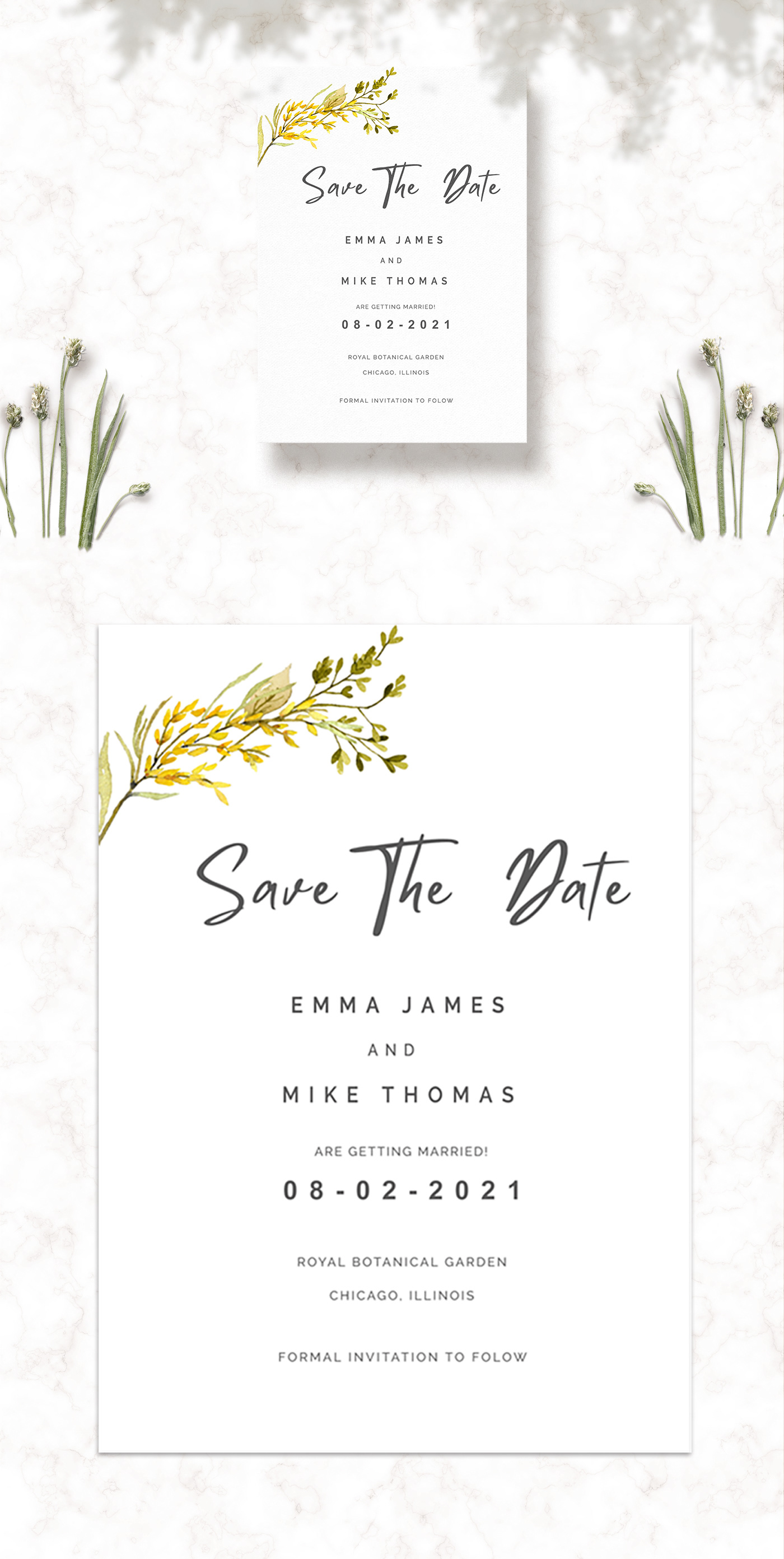 Free Save The Date Template is an eye-catching invitation for your wedding celebration.
