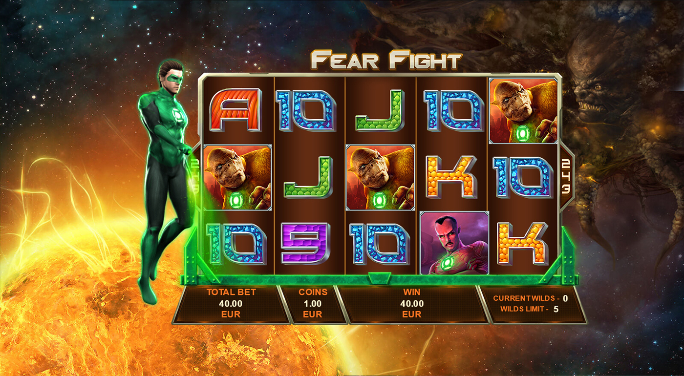 Green Lantern No Download Slot