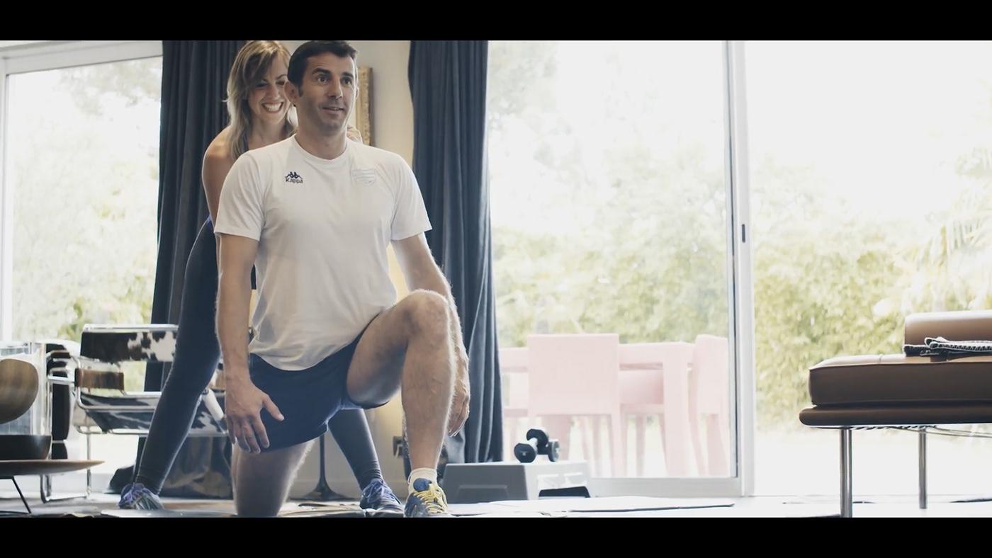 sports workout Coach training gym