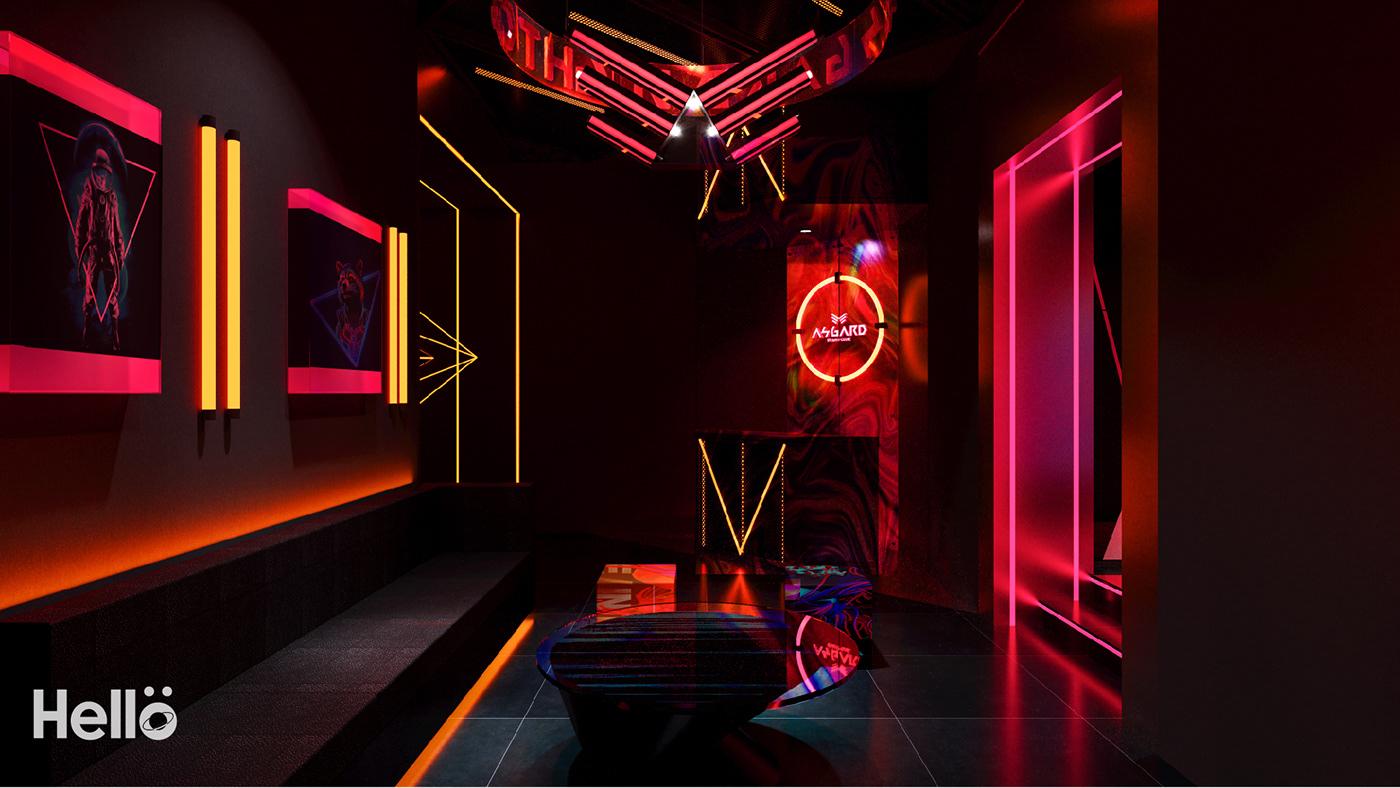 商业空间设计 夜店 室内设计 酒吧 酒吧设计