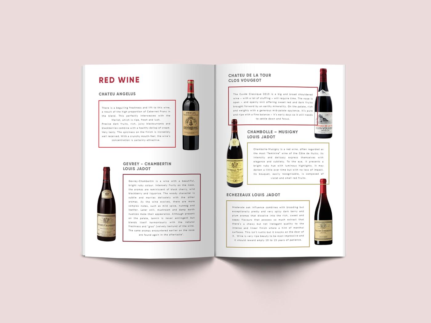 branding  menu graphicdesign Food  book yacht