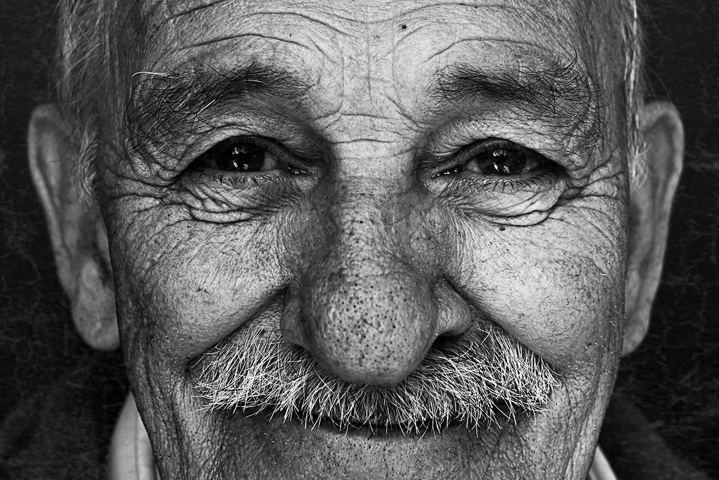 photo portrait Fotografia biancoenero blackandwhite photoshop Nikon nikond800 oldman fantastic