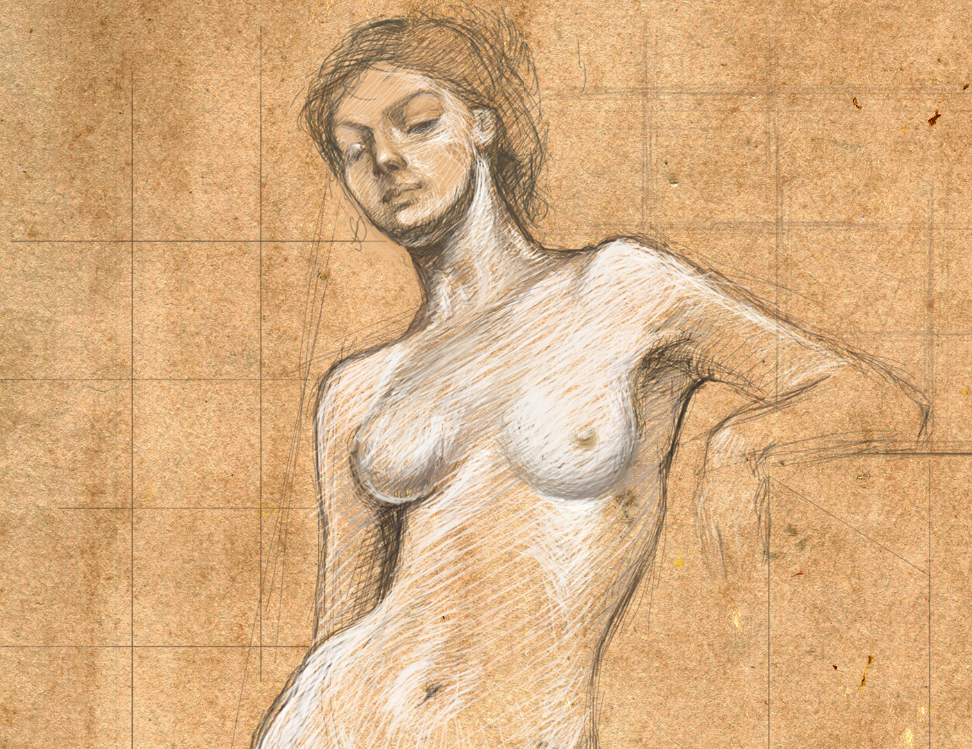 Lucian freud's nude portraits reveal a painter's obsession with skin
