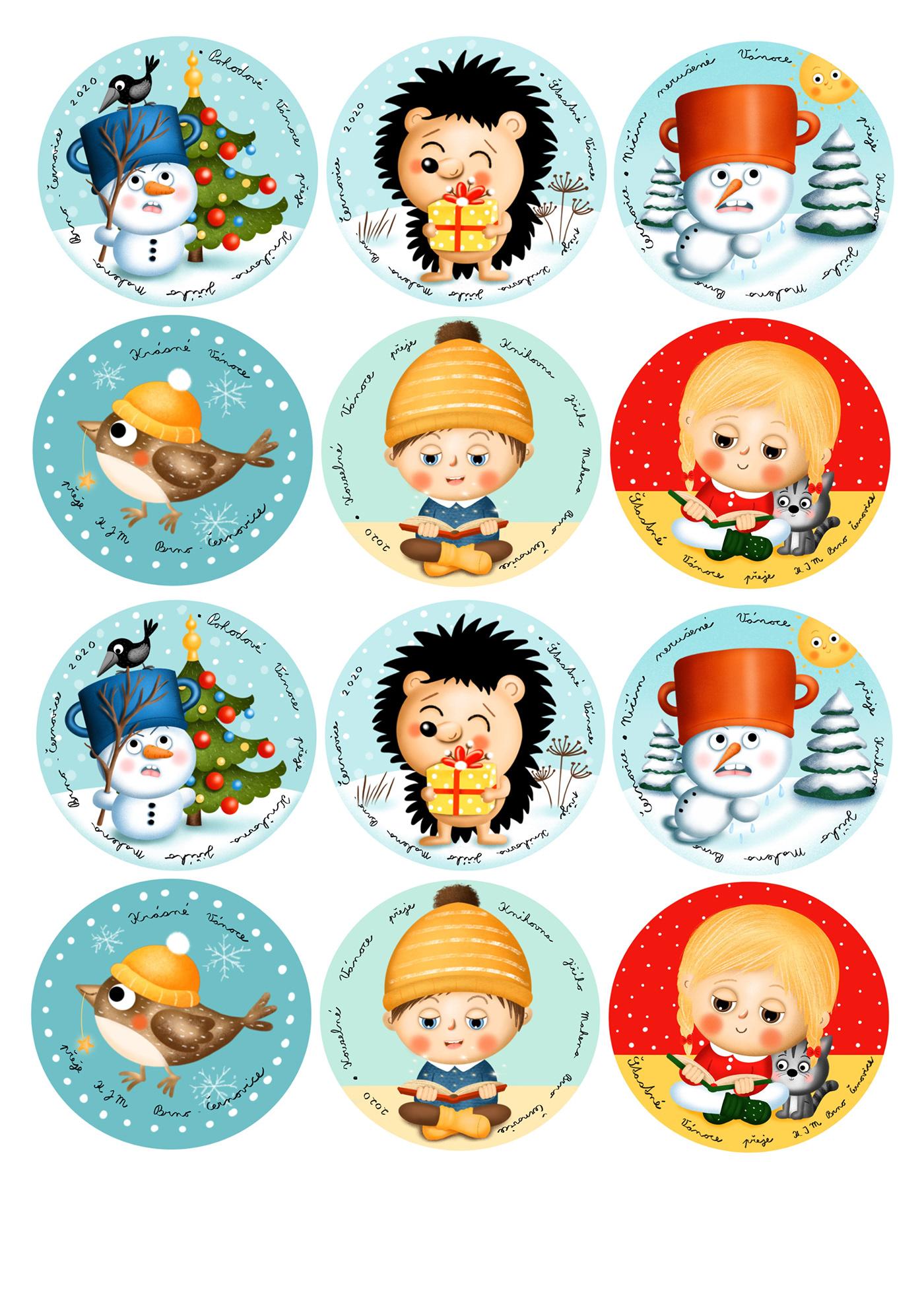 book children kniha winter zima