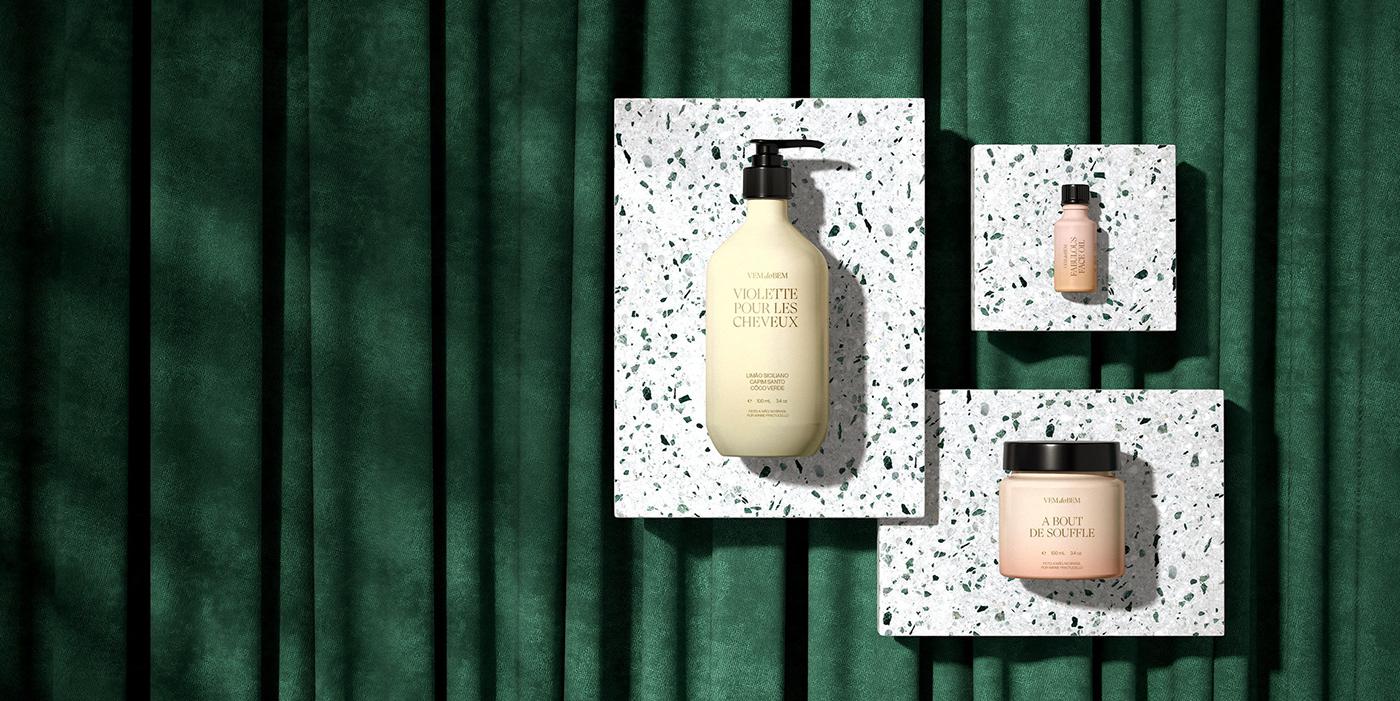branding  Cosmetic watercolor art direction  graphic design  Web Design  brand
