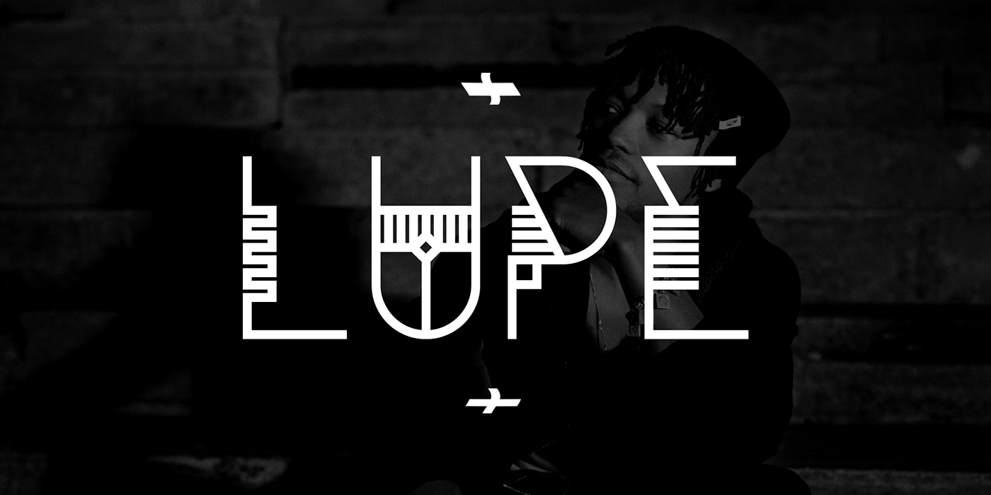 Sanotra font type lines shapes pattern design FontLab Typeface #madethis  #Dreamville #TourStories
