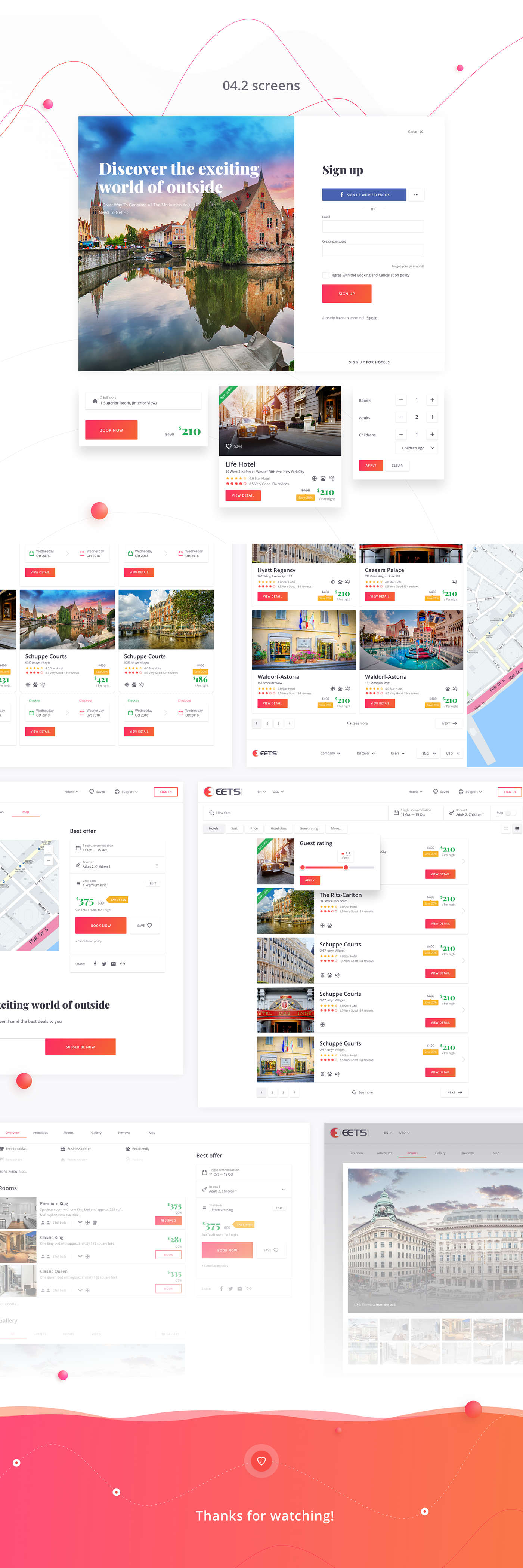 ux UI Web Interface Booking Travel case development design graphic