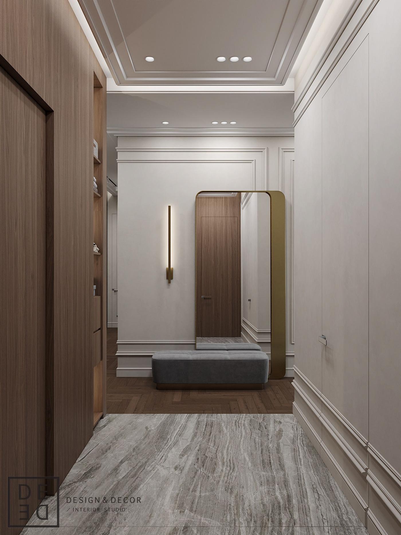 Interior design architecture interiordesign Minimalism modern CoronaRender  3dsmax photoshop DE&DE Interior Studio
