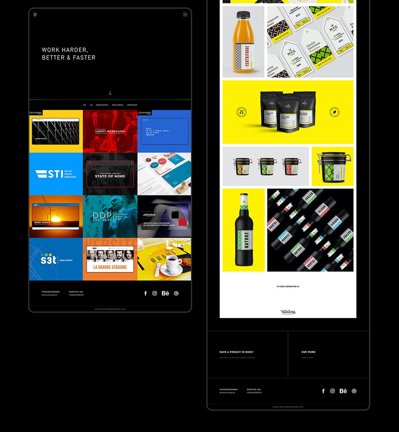 agency clean creative creative studio developer digital graphic studio minimal product design  wen agency