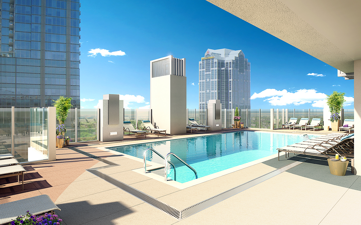 architectural visualization 3D Rendering