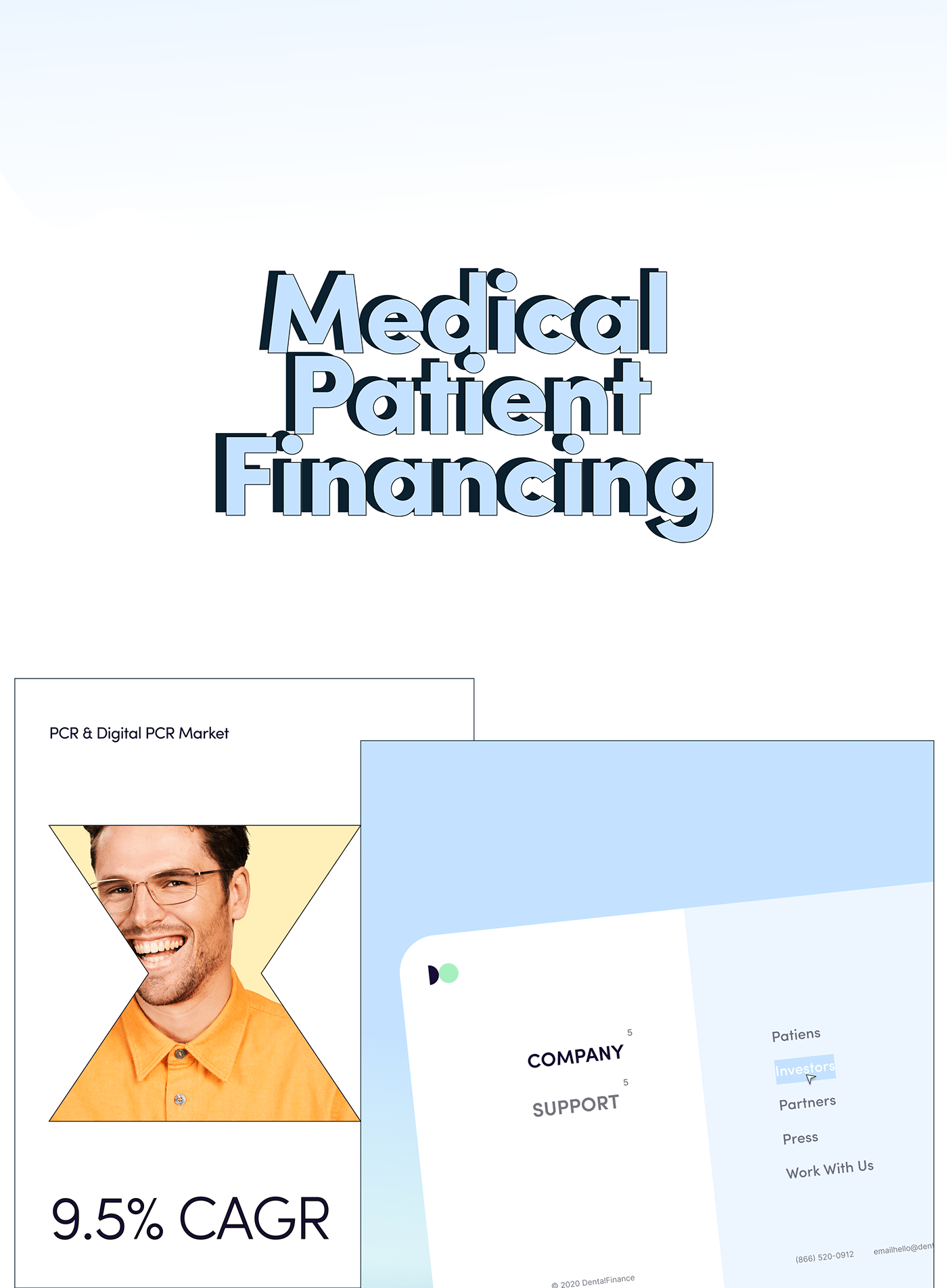 clinic credit dental etheric finance Fintech loan product design  ux web application