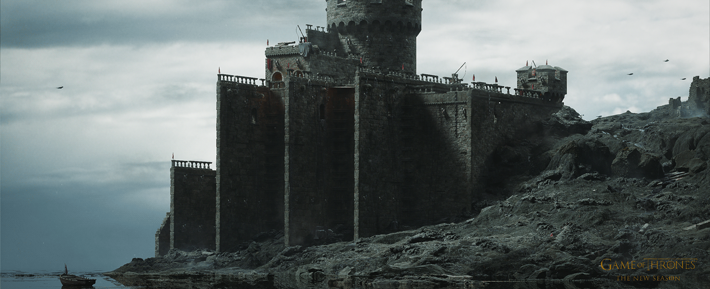 3D after effects animation  cinema 4d Game of Thrones motion graphics  Render UE4 Unreal Engine