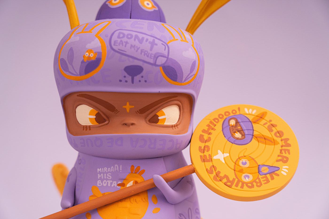 arttoy Character customart custommade designerstoy designertoy handmade toydesigner