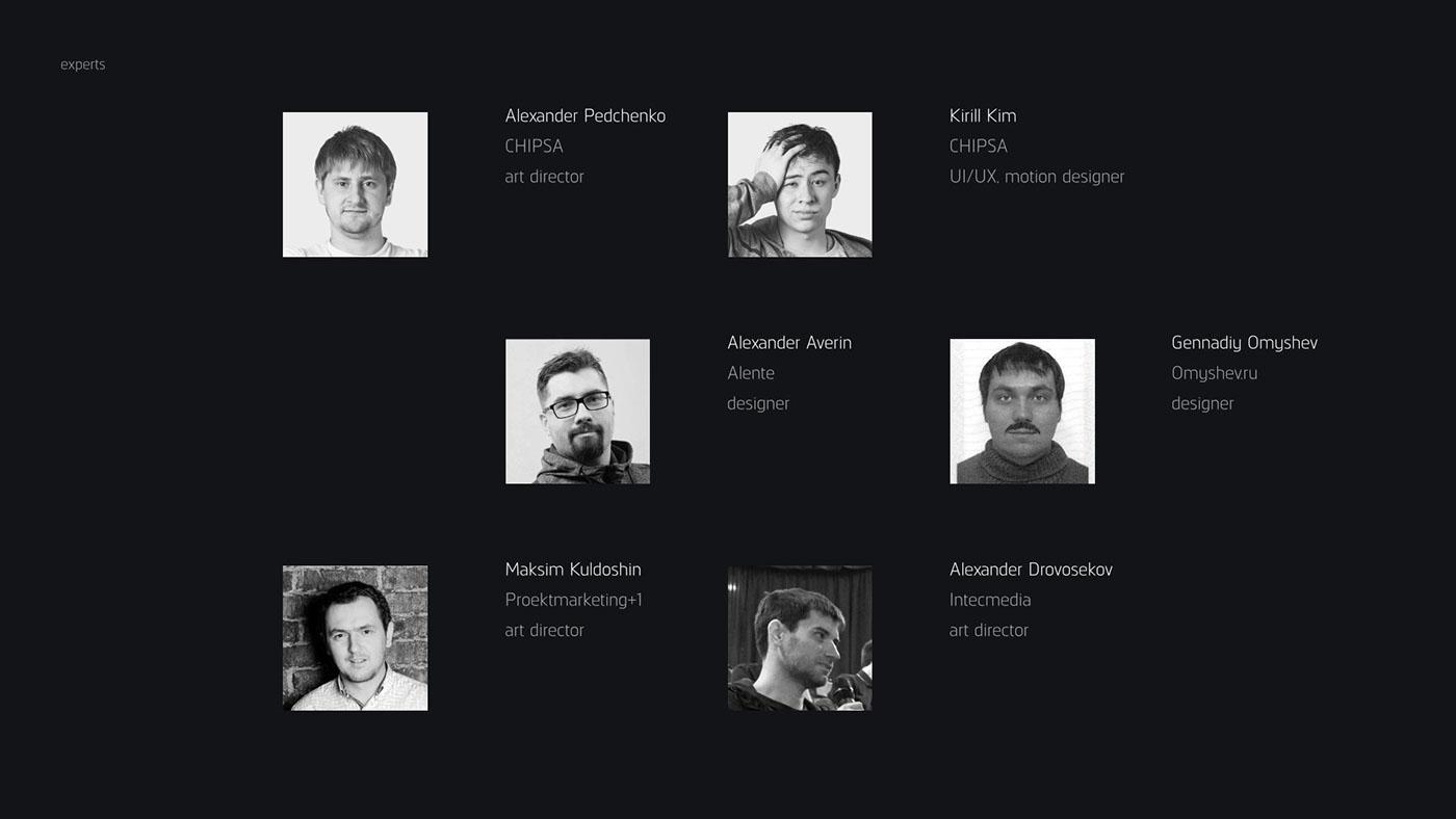 Behance portfolio reviews krasnoyarsk chipsa design site Web UI ux