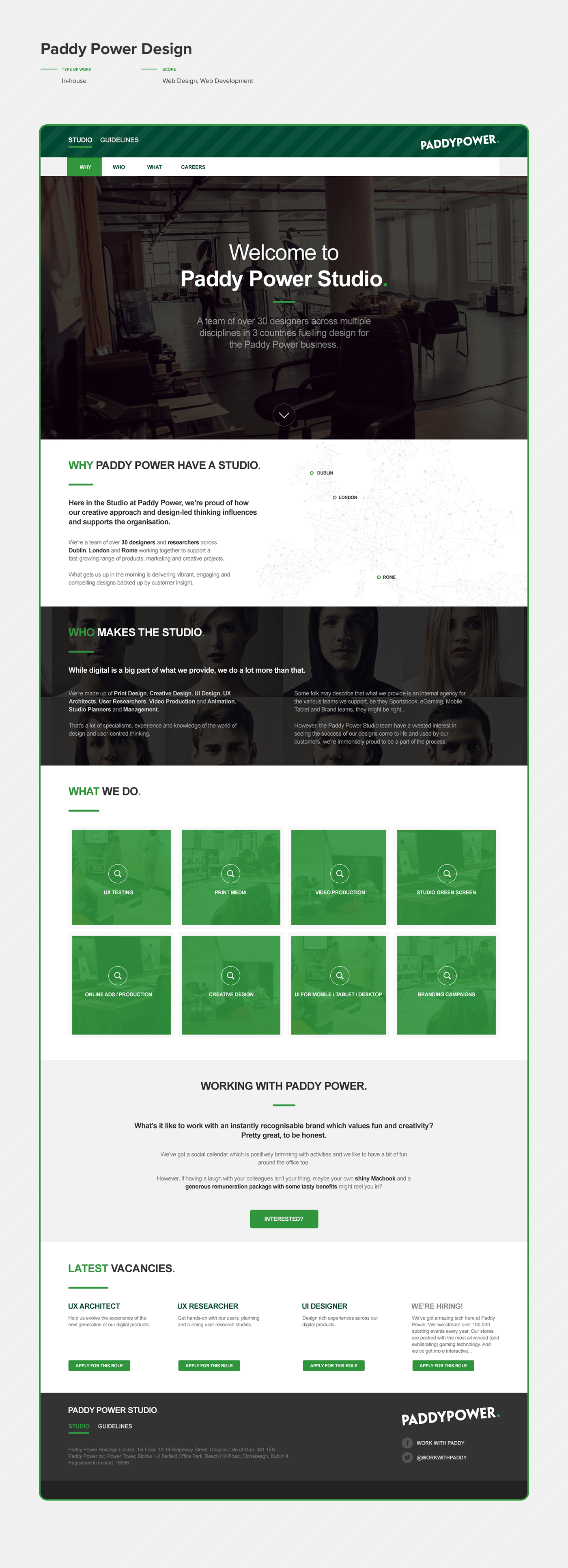 design UI Web Web Design