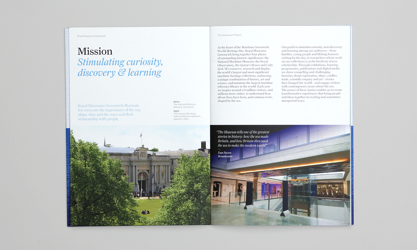 Royal Museums Greenwich — The Endeavour Project on Behance