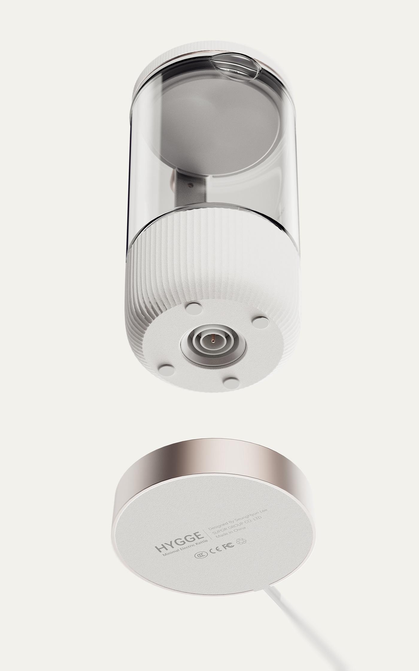 architecture industrial design  kettle kitchen product design  visualization