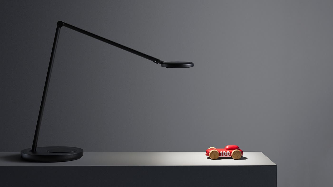 aluminium industrial design  Lamp led light lightning minimalistic profile Scandinavian task light