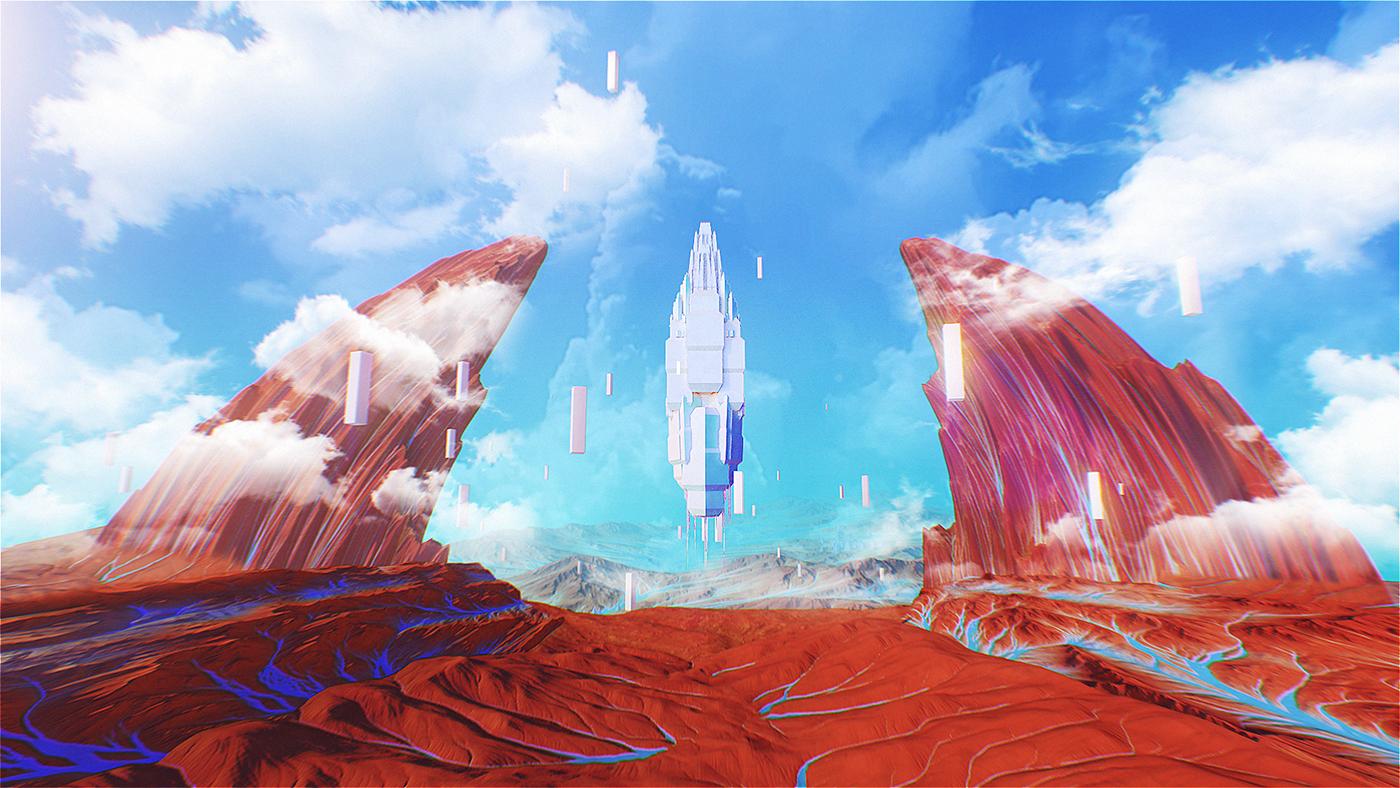 3D content Show Mapping Halsey coachella
