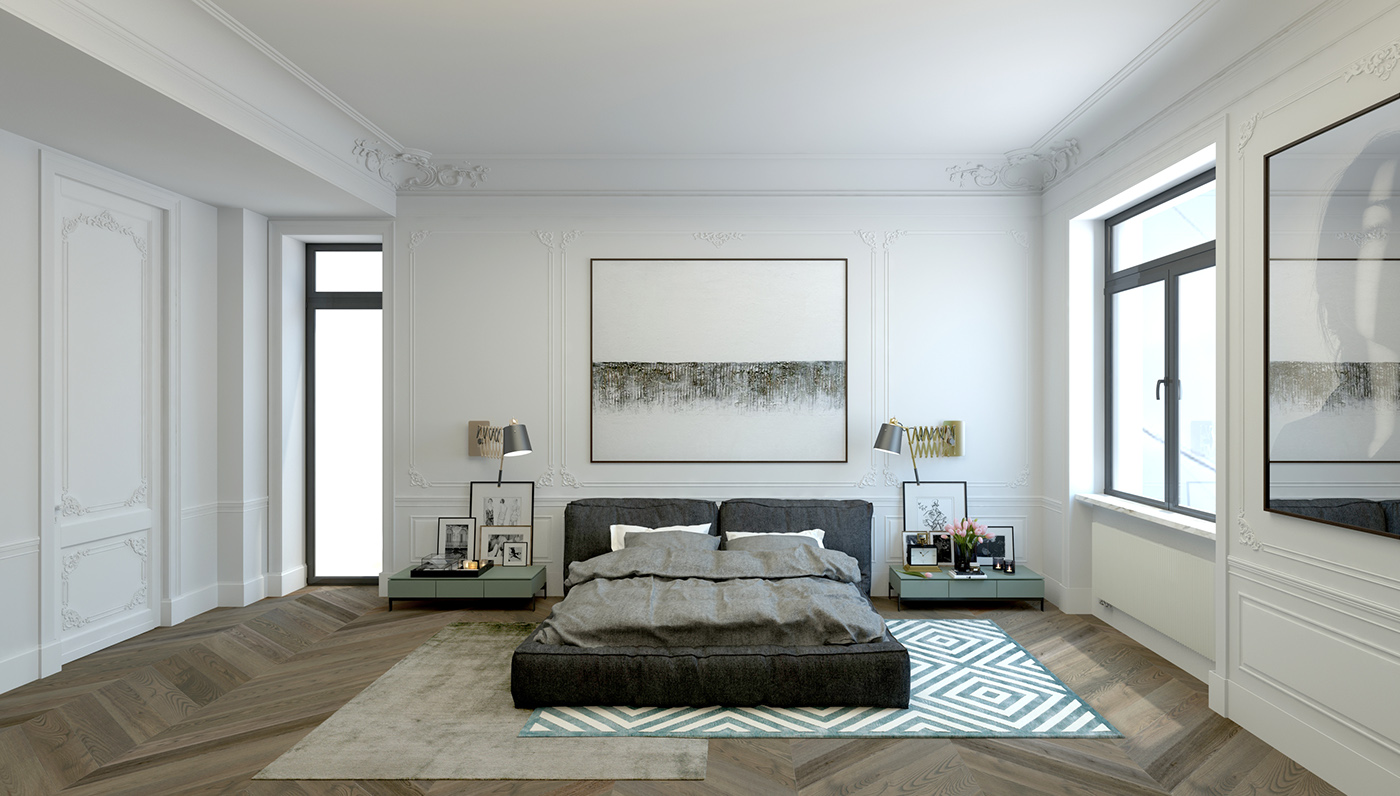 Str on behance - Proportion in interior design ...