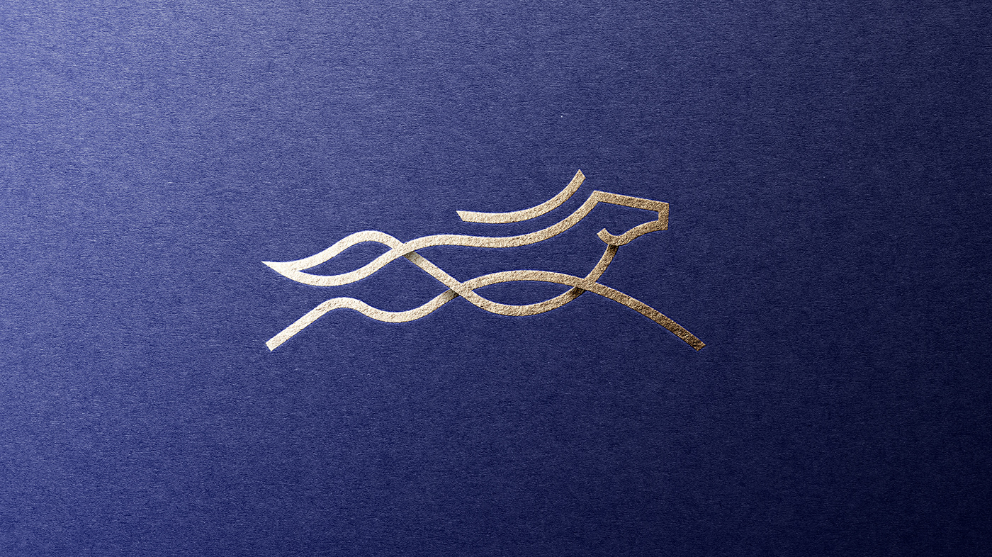Nordic Topline High Quality logo mark made with print foil and premium grade paper