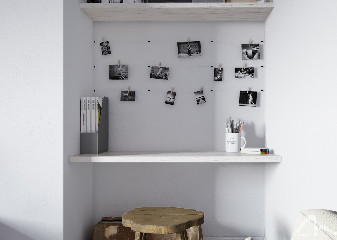 Digital Art  Interior architecture