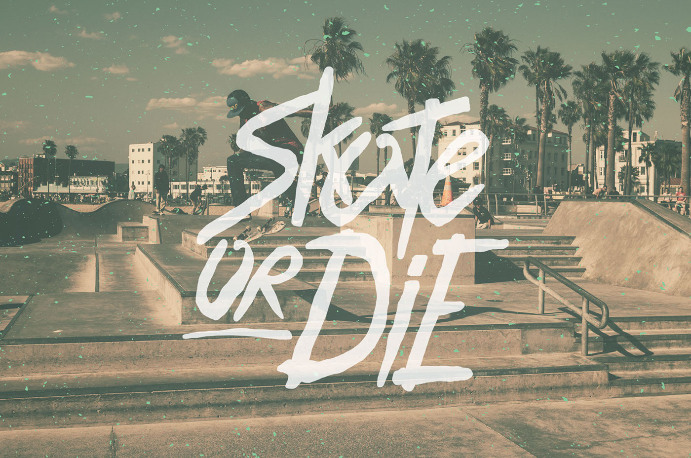 hand drawn font hand drawn type skateboard 80s 1980s summer gif gifs Free font free typeface free