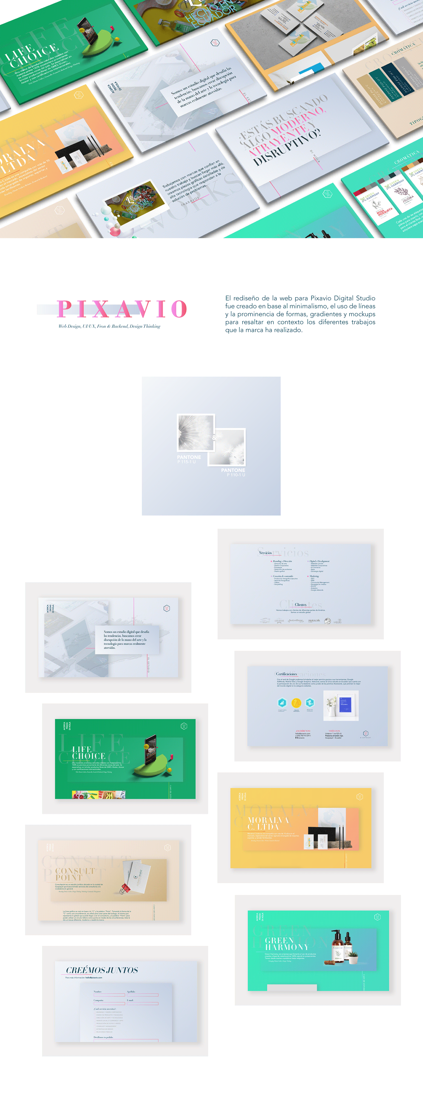 Website UI/UX devops design diseño graphic digital Responsive design thinking