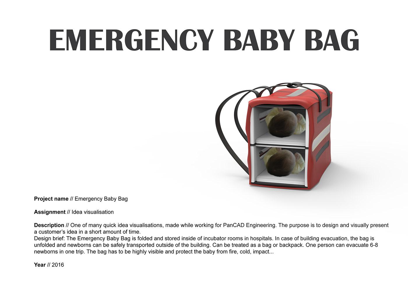 newborn baby emergency fire earthquake