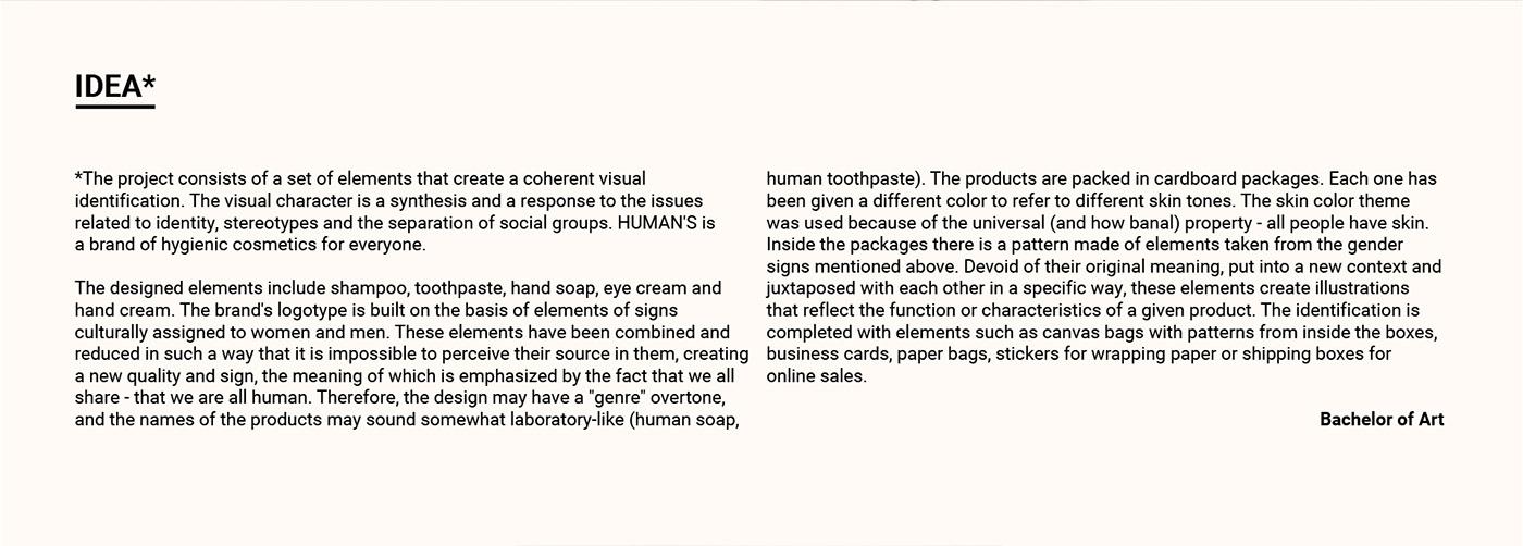 branding  graphic design  Packaging human identity skin key visual visual identification