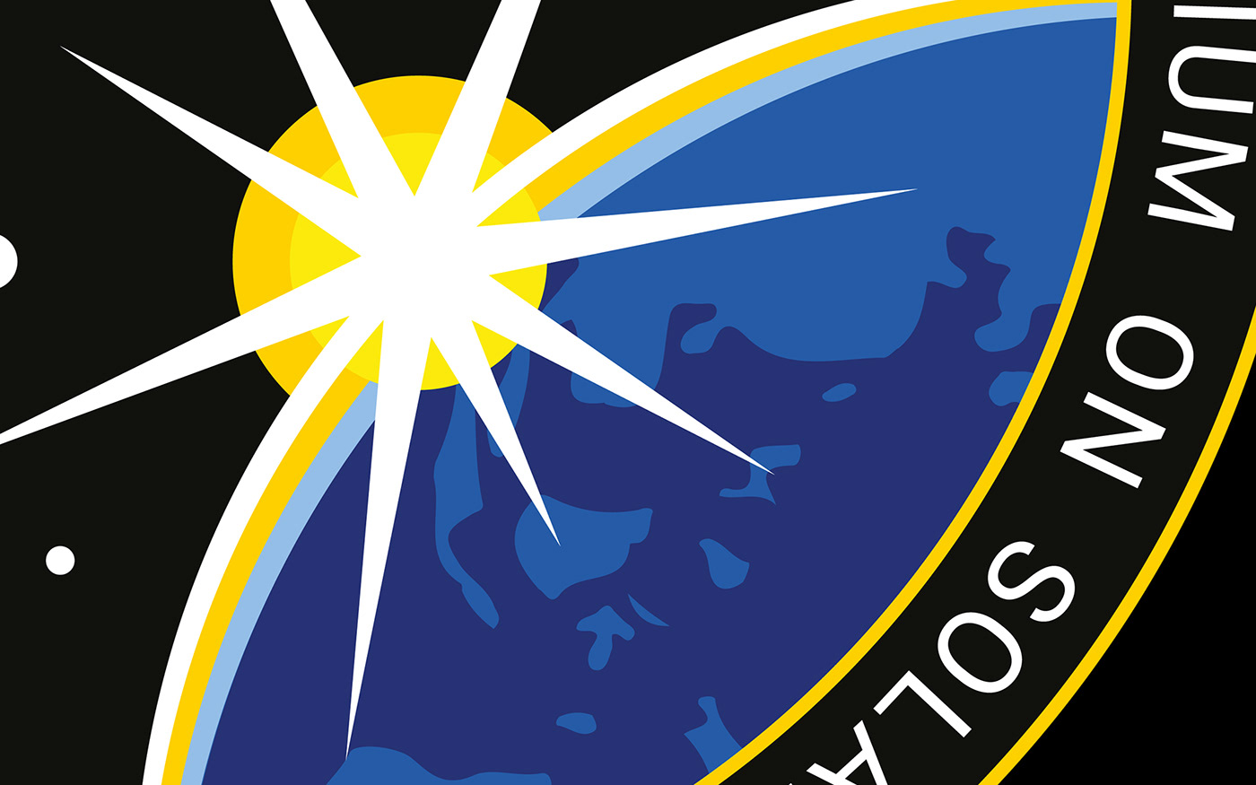 Mission Patch patch badge logo Space  solar Solar Sailing conference Event science