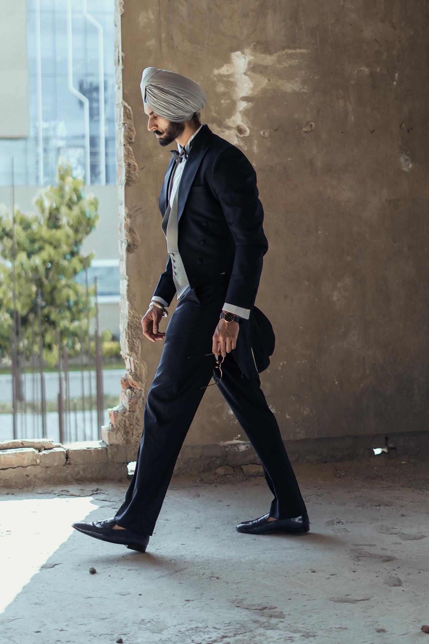 Photography  photoshoot photographer Chandigarh Fashion  men's clothing sikh model sardar India Photographer