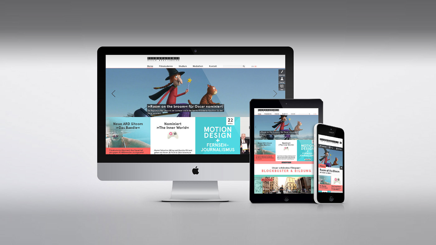online Responsive Screendesign Webdesign