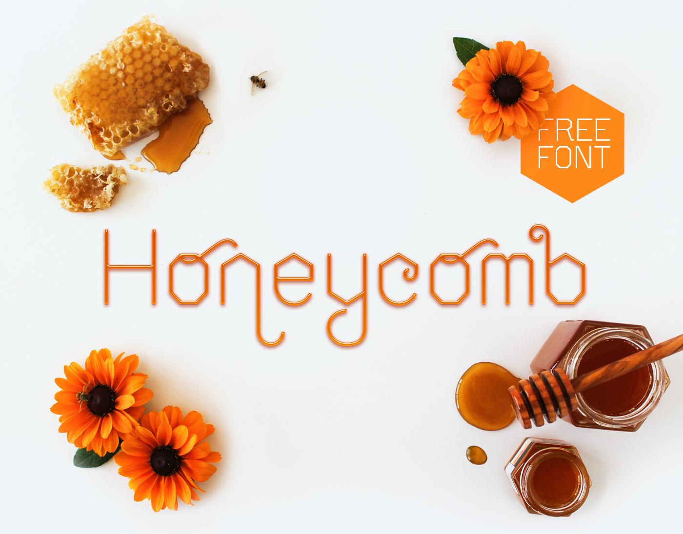 Honeycomb Font Download