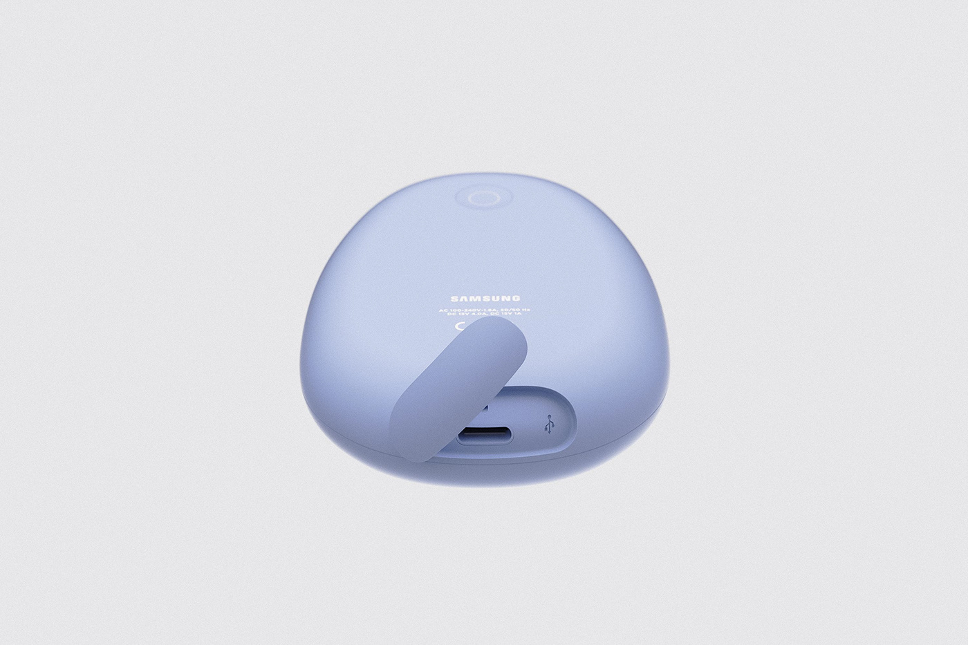 modern simple concept device object pastel portable product color