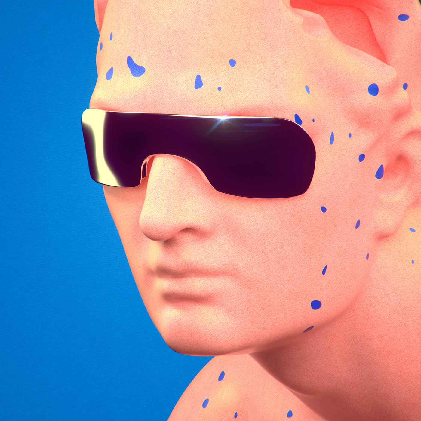 surreal Cinema Character portrait octane art digital future 3D photoreal highres