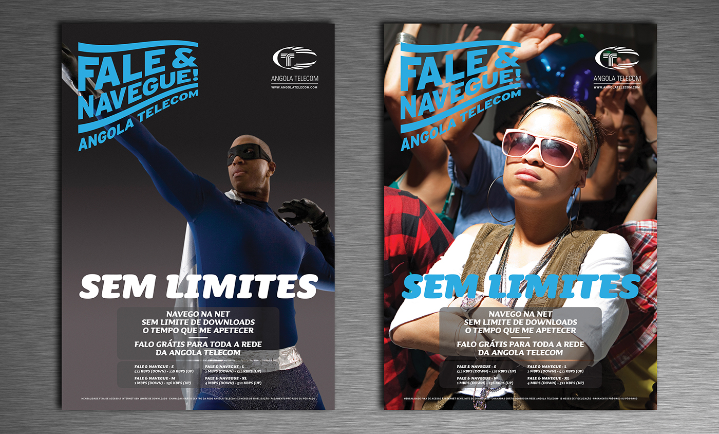 campanha publicitária telecomunicações africa african