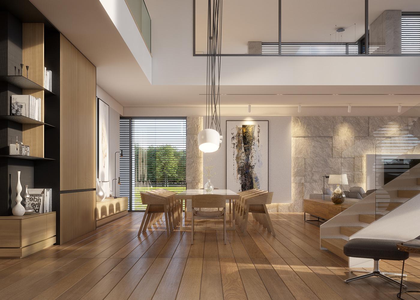 warm  modern interior design  vis  for lk