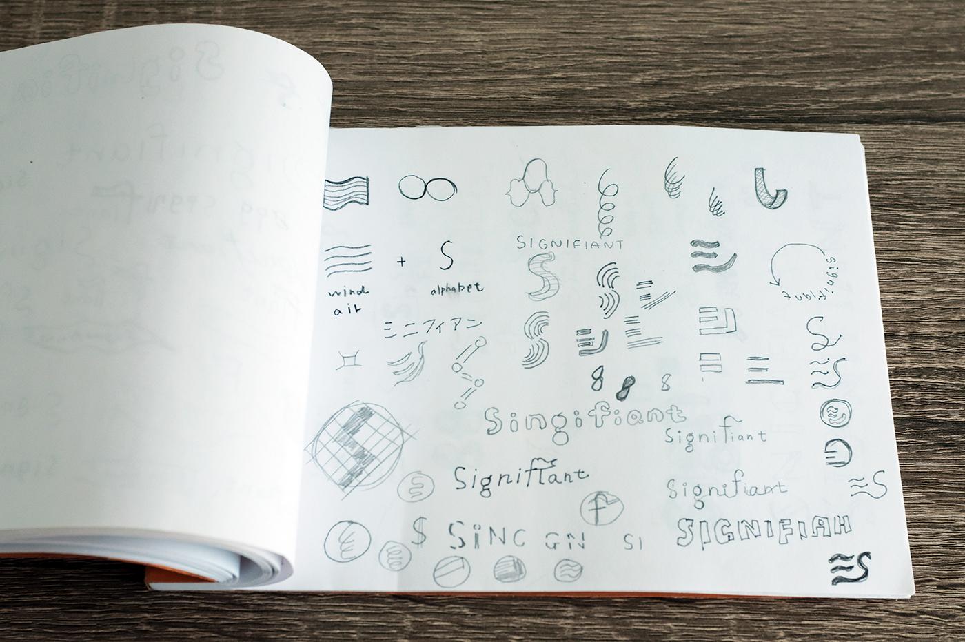 branding  japan Startup logo typography   font Logotype Name card