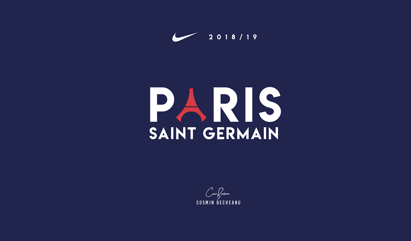 meet 8138f e123f PARIS St. Germain - NIKE® 2018/19 Concept on Behance