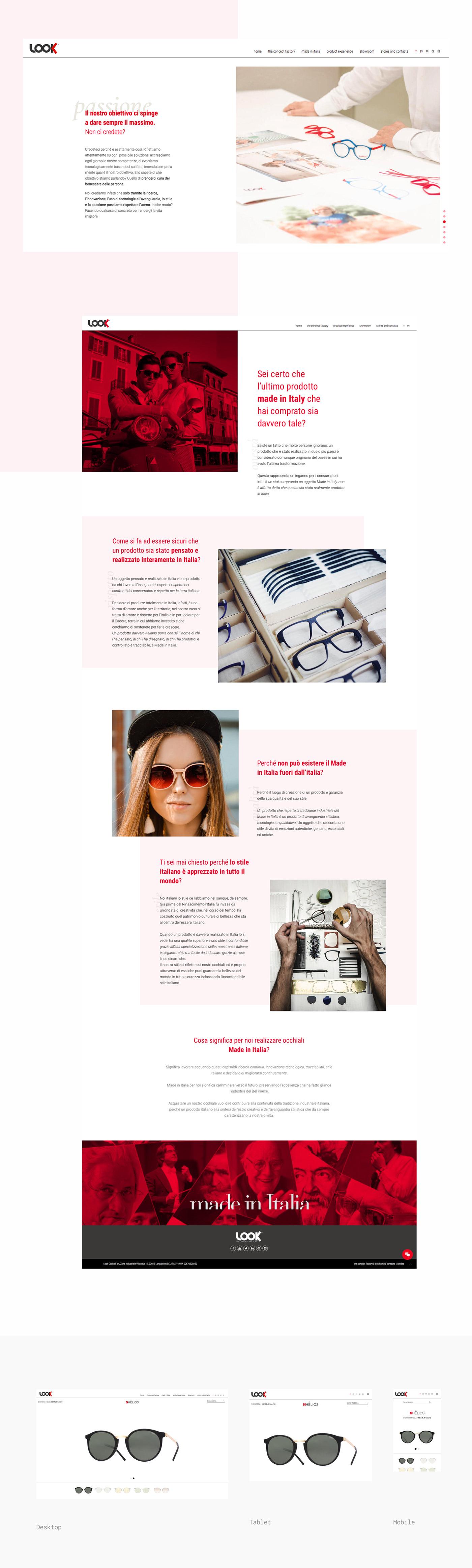 eyewear Sunglasses Web Design  Website Inpiration Layout Fashion  minimal UI/UX Look occhiali